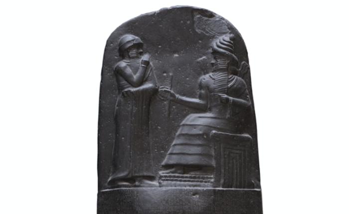 ハンムラビ法典碑