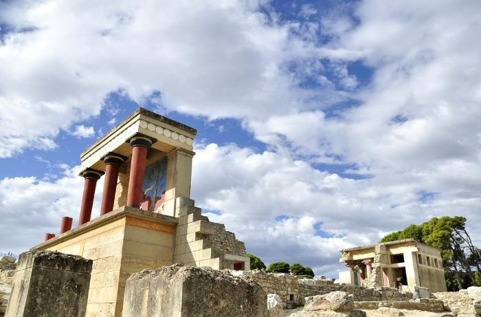 クレタ島・クノッソス宮殿