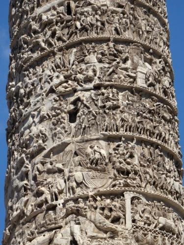 ローマの美術・トラヤヌス帝の記念柱【レリーフ】