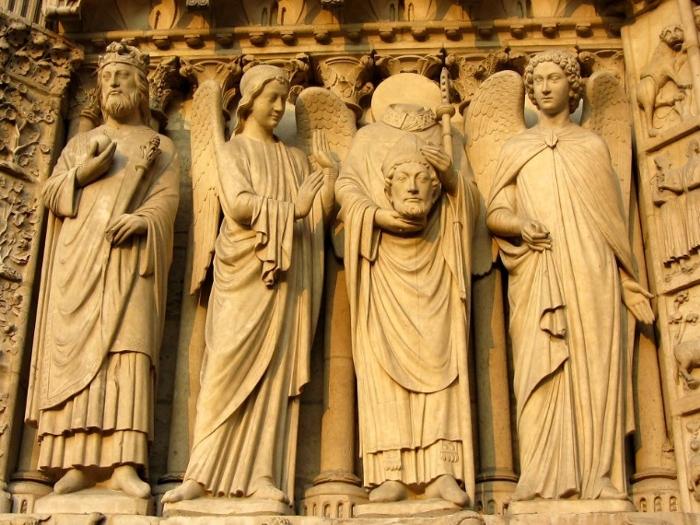 ノートルダム大聖堂・彫刻