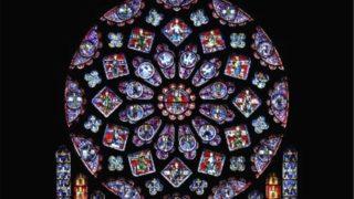 シャルトル大聖堂・バラ窓