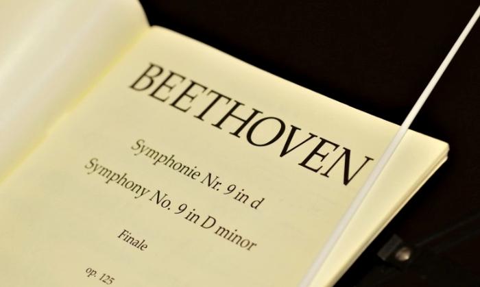作曲家ベートーヴェンのイメージ