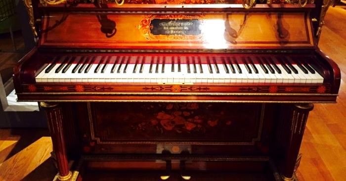 古楽器ピアノ