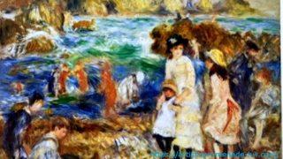 バーンズコレクション・ルノワール「ガーンジーン島の子供たち」