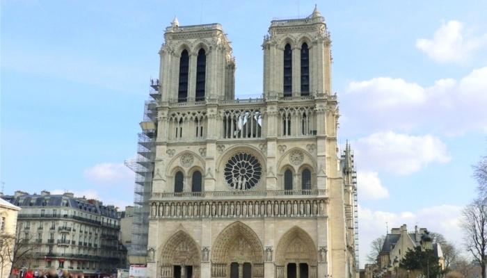 フランス・パリ【ノートルダム大聖堂】