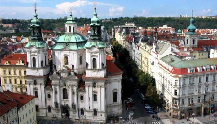 チェコ【プラハの街並み】