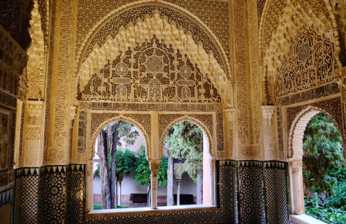 アルハンブラ宮殿(スペイン)リンダラハのバルコニー