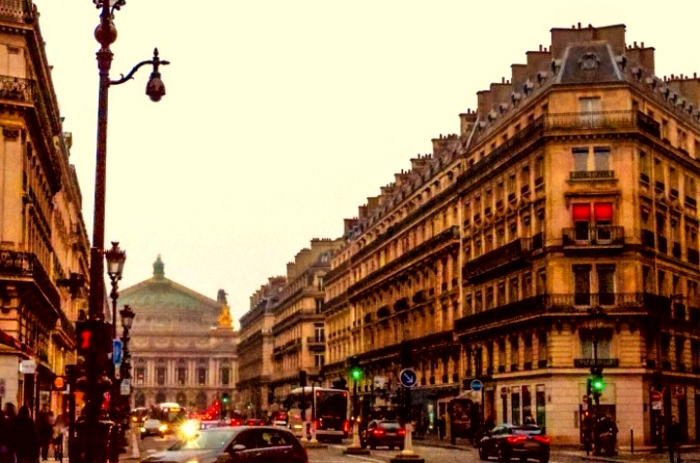 フランス・パリ オペラ通り
