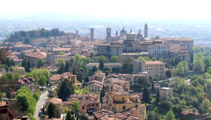 イタリア・ベルガモ(旧市街地)