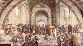美術検定【ルネサンス】ラファエロ・サンツィオ「アテナイの学堂」