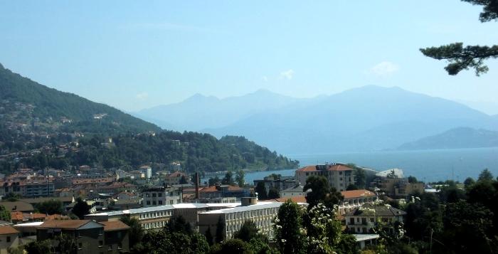 イタリア・マッジョーレ湖【ターラント邸庭園からの眺め】