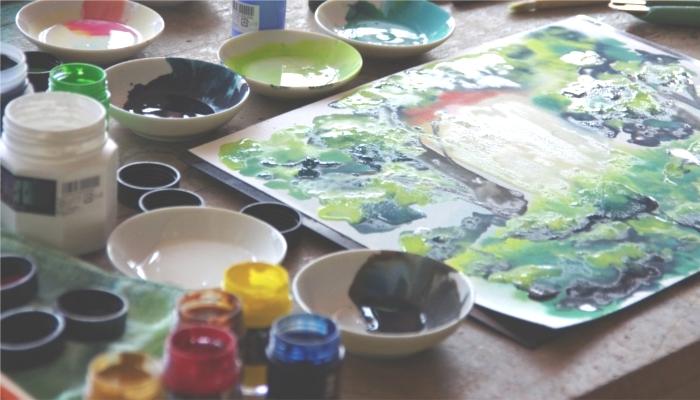 油彩絵の具