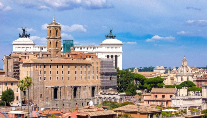 ローマの街並み