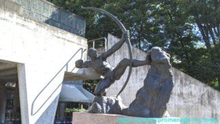 国立西洋美術館・アントワーヌ・ブールデル「弓をひくヘラクレス」