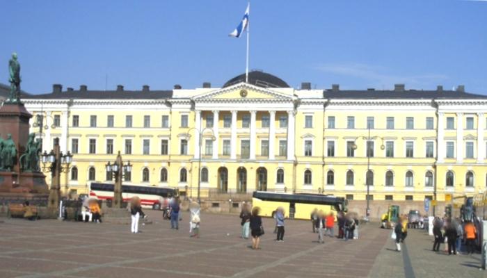 フィンランド・ヘルシンキ大学本部