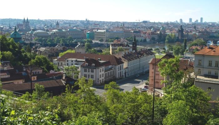 プラハの旧市街地
