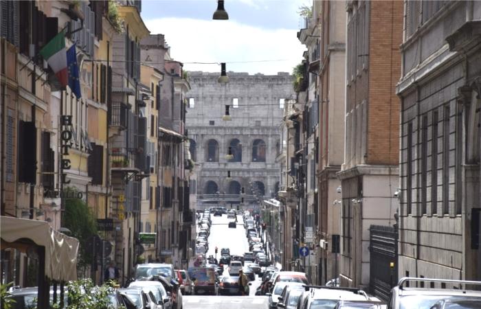 イタリア・ローマの街並み