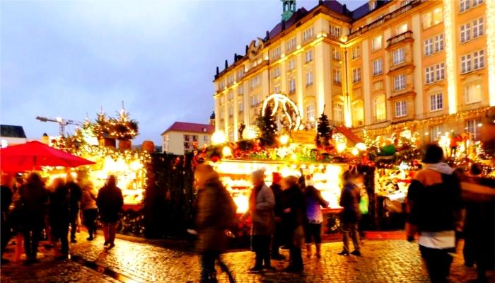 ドイツ・クリスマスマーケットの風景