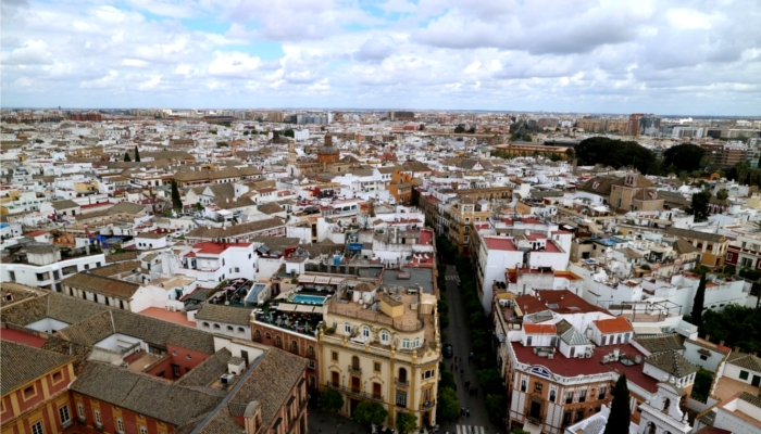 スペイン・セビリアの街並み