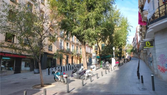 スペイン・マドリードの街並み