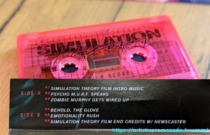 MUSE「シミュレーション・セオリー デラックス・ボックス・セット」【カセットテープ】
