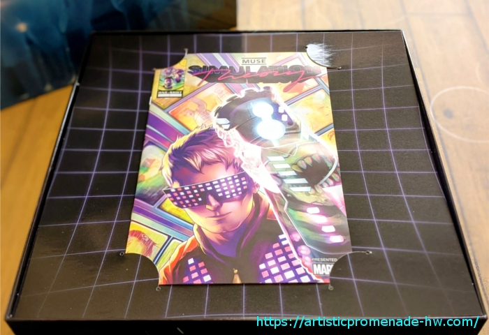 MUSE「シミュレーション・セオリー デラックス・ボックス・セット」【Marvelの漫画冊子】
