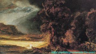 レンブラントとレンブラント派 レンブラント・ファン・レイン「善きサマリア人のいる風景」