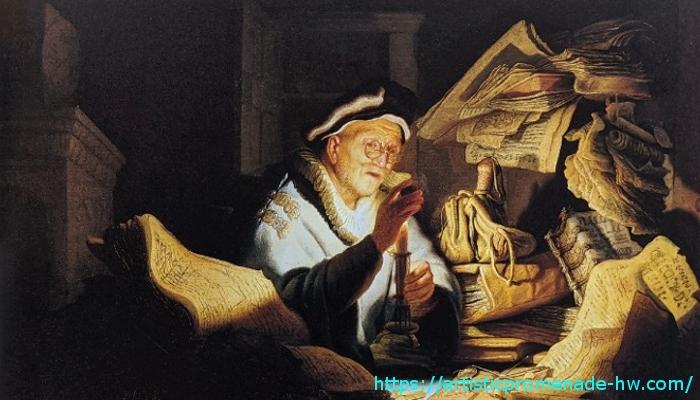 レンブラントとレンブラント派 レンブラント・ファン・レイン「愚かな金持ちの譬え」