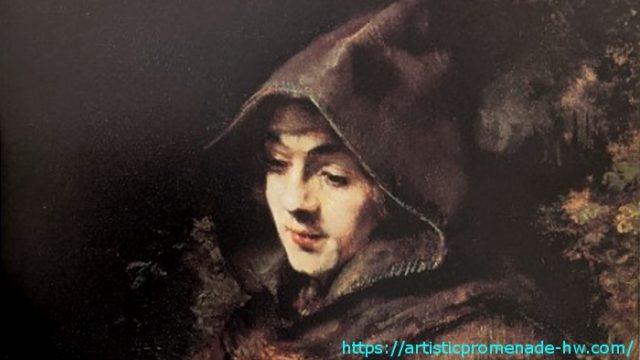 レンブラントとレンブラント派 レンブラント・ファン・レイン「修道士に扮するティトゥス」