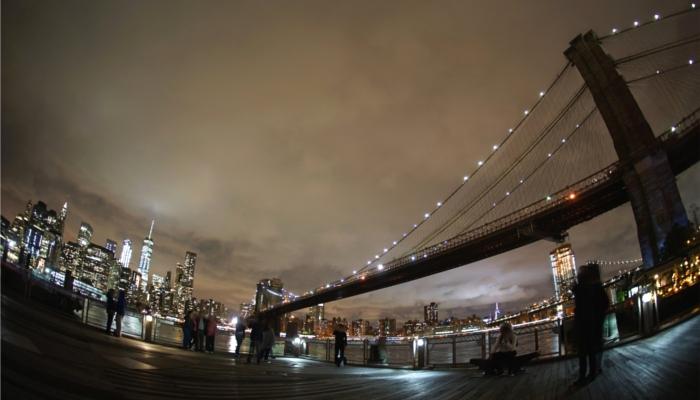 アメリカ【マンハッタンとブルックリン橋】