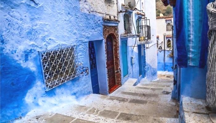 モロッコ【シャウエンの旧市街】